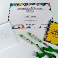 Seminar Kit ekonomis blocknote pulpen dan sertifikat
