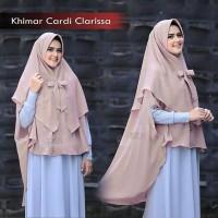 Jilbab Hijab Khimar Cardi Clarissa Grosir Jilbab Instan Syari Murah