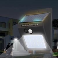 Lampu Solar Cell 30 LED Sensor Gerak Lampu Taman Lampu Dinding
