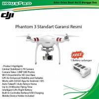 DJI PHANTOM 3 STANDARD BARU 100%,PROMO FREE EXTRA 1 BATTERY/DJI P3S