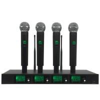 Upstart ERZhen Professional 4 Channel Wireless Microphone System 4