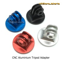 Action Cam CNC Aluminium Tripod Mount Adapter For GoPro SJCAM Yi 4K BP