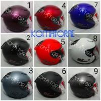 Termurah Helm KYT DJ Maru white red black purple abu blue