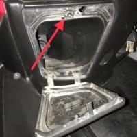 pengunci box bagasi depan aerox 155