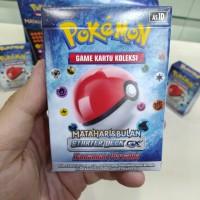 Pokemon Game Kartu Koleksi Matahari & Bulan Starter Deck