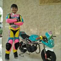 wearpack anak custom aksesoris motor