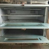 oven gas + termo + loyang 90x55x70cm