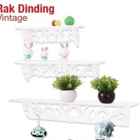 Rak Dinding Vintage 1 Set isi 3 pcs