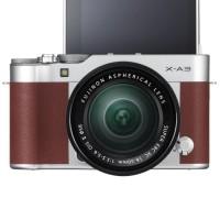 Fujifilm X-A3 / Fuji X-A3 / XA3 Kit 16-50mm Kamera Mirrorless - Brown