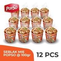Seblak Cup PopSo Paket isi 12 cup @100 gr x 12