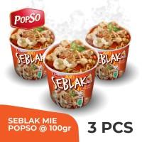 Seblak Cup PopSo Paket isi 3 cup @100 gr x 3
