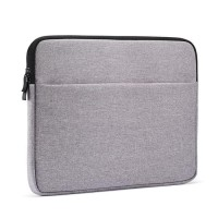 Dijual Tas Laptop Macbook Softcase Nylon Zipper 11 12 Inch - Grey