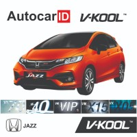 Kaca Film V-KOOL Honda Jazz Full (D-VK40 40% S-X05 80% B-X05 80%)