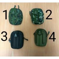 Tas Pinggang Army Dompet Sarung HP ARMY Tas Gadget Kecil Militer - Hitam