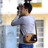 Tas Kamera Sling Bag Pouch Camera Mirrorless - Firefly Carrick Khaki