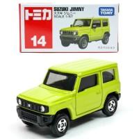 Tomica Reguler 14 Jimny Green Miniatur Mobil jimny Hijau