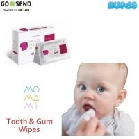 MoMaMi Tooth Gum Wipes Tisu Pembersih Gigi Gusi Bayi