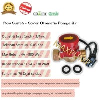 PROMO Water Flow Switch 1 - 3/4 Saklar Otomatis Pompa Air Booster