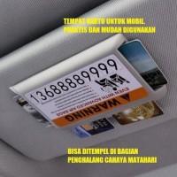 Tempat Kartu Untuk Mobil / Car Card Holder / eToll