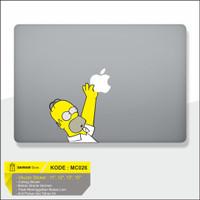 Decal Macbook Sticker Laptop Simpson