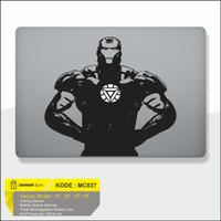 Decal Macbook Sticker Laptop Ironman 3