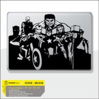 Decal Macbook Sticker Laptop Avanger 1