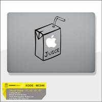 Decal Macbook Sticker Laptop Juice