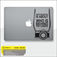 Decal Macbook Sticker Kamera