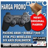 Stik Stick PS3 Wireless OP HITAM Packing Dus Coklat Super Bestseller