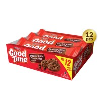 Good Time Cookies Double Choc Singles - PACK (12 Pcs)