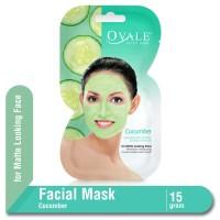 Ovale Facial Mask Cucumber Sachet 15 gr