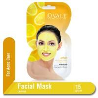 Ovale Facial Mask For Acne Care (Lemon) Sachet 15 gr