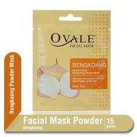 Ovale Facial Mask Powder Bengkoang Sachet 15 gr