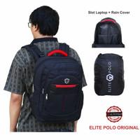 BARU Tas Elite Polo Original Restop Ransel Sekolah Bagus Berkualitas