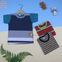 Kaos Salur uk 3-5 th / Kaos Anak Cowok Baju Anak Kaos Salur - SALUR