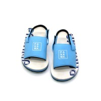 Sepatu Sandal Anak-Anak Panama Baby Selop White Blue BBO04