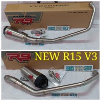 Knalpot r9 alpha r15 new v3 knalpot racing r9 alpha r15 new v3