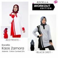 Kaos Olahraga Wanita Muslimah/Rocella Kaos Zamora S-XL