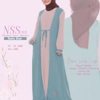 BAJU GAMIS NIBRAS Nss 001| Gamis Dewasa| Gamis Brended