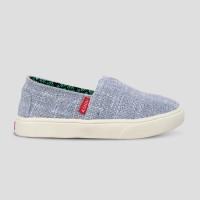 Sepatu Anak Slip-On WAKAI KIDS SLB11808 HASHIGO Blue White