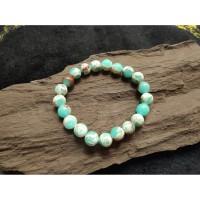 Gelang Batu Giok Nephrite Soft Jade Natural 8mm