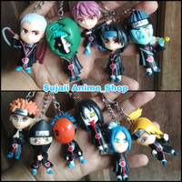 Gantungan Kunci Anime Naruto Crew Akatsuki