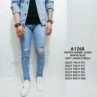 Skinny Jeans Pria / Ripped jeans Pria / Celana panjang pria