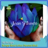 Bibit Tanaman Bunga Teratai Biru Bowl Lotus Benih Bibit Tanaman Hias