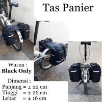 Terbaru Tas sepeda tas Panier Bagasi belakang sepeda lipat