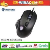 Rexus X8 Xierra Gaming Mouse RGB Mouse Gaming