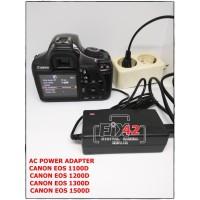 AC Power Adapter For Canon EOS 1100D 1200D 1300D lp-e10.