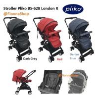 Stroller Pliko London R BS-628 Hadap Depan Belakang Kereta Dorong Bayi