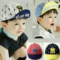 Topi anak NY bordir newyork baseball hat import