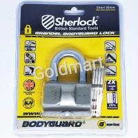 Sherlock Gembok 50mm Pendek Grandel Bodyguard